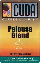 Cuda Coffee Palouse Blend (1 lb)