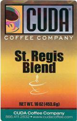 Cuda Coffee St. Regis Blend (1 lb)