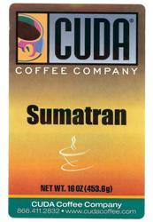 Cuda Coffee Sumatran (1 lb)