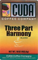 Cuda Coffee Three Part Harmony Blend (1 lb)
