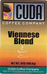 Cuda Coffee Viennses Blend (1 lb)