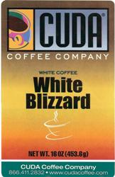 Cuda Coffee White Coffee White Blizzard (1 lb)