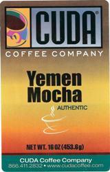 Cuda Coffee Yemen Mocha Blend (1 lb)