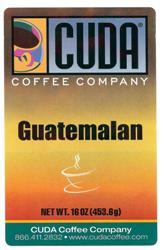 Cuda Coffee Guatemalan (1 lb)