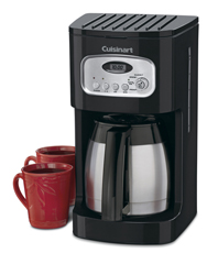 Cuisinart 10-Cup Programmable Thermal Coffeemaker Black