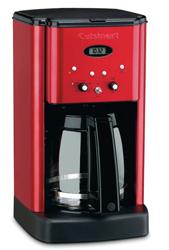 Cuisinart Brew Central 12 Cup Coffeemaker Metallic Red