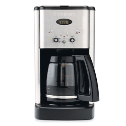 Cuisinart Brew Central 12-Cup Programmable Coffeemaker Brushed Chrome