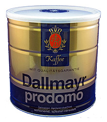 Dallmayr Prodomo Coffee Large Tin