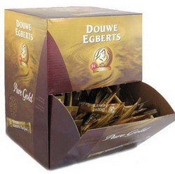 DE Pure Gold Instant Coffee in Sticks