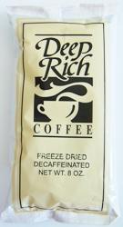 Decaf Freeze Dried Coffee 12 - 8oz Bags