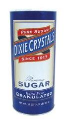 Dixie Crystal Canister Sugar 20 oz