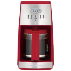 Ensemble 12 Cup Coffeemaker - Red/Stainless