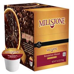 Folgers/Millstone Gourmet Selections Breakfast Blend K-Cup 72/CS
