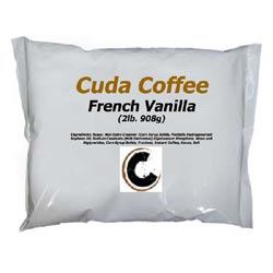 French Vanilla For Vending Machines Case of 6 - 2lb bags