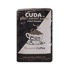 Fresh Roasted Ground Coffee (12oz) - Cuda Select Harvest Blend
