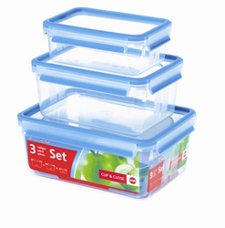 Frieling Emsa 3D Food Storage 3 Piece Container Set 125 oz