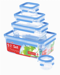 Frieling Emsa 3D Food Storage 5 Piece Container Set 125 oz