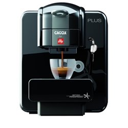 Gaggia For Illy Plus Single Serve - Black