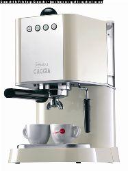 Gaggia New Baby Espresso Machine - Ivory