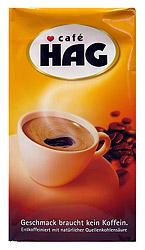 Cafe HAG Classic Mild Decaf Coffee