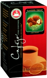 Hazelnut Creme Decaf Single Pods (Case of 216)