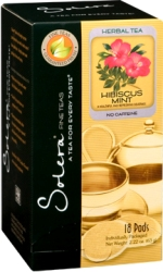 Hibiscus Mint Herbal Solera Tea Pods Case of 216