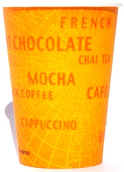 Hot Vending Cups - World of Coffees 8-25oz