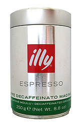 ILLY Decaf Ground Coffee