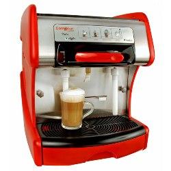Italia Espresso Machine Red
