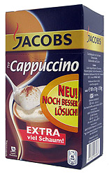 Jacobs Cappuccino in Individual Pockets