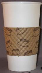 Java Jacket Coffee Sleeves 12-20 oz Cups