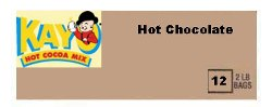 Kayo Regular Hot Chocolate Kosher Circle U - Case of 12 - 2lb bags