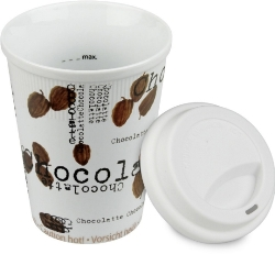 Konitz Chocolatte Travel Mug w-Lid Set of Two