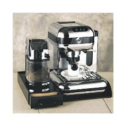 La Pavoni Base w/Sliding Drawer - Black