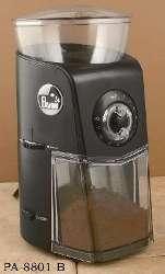 La Pavoni Burr Coffee Grinder - Black