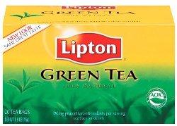 Lipton 100 Percentage Natural Green Tea