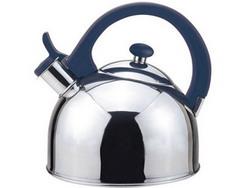 Magefesa 2-1-Quart Acacia Stainless Steel Tea Kettle Blue
