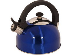 Magefesa 2-1-Quart Sabal Stainless Steel Tea Kettle Blue