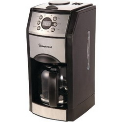 Magic Chef MCSCM10PGBST 10-Cup Grind and Brew Coffee Maker