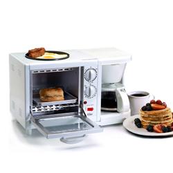 Maximatic Elite Cuisine Multi-Function 3-in-1 Breakfast Center White