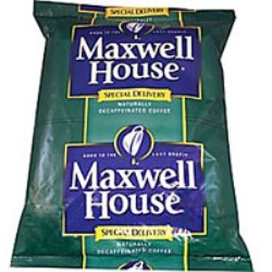 Maxwell House Special Delivery Decaf Filter Pack (1.30oz)