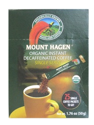 Organic Decaffeinated Instant Coffee Sticks