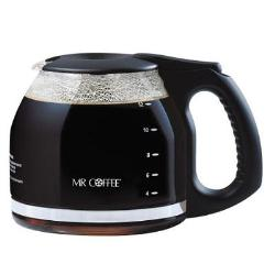 Mr. Coffee 12 Cup Replacement Decanter -Black