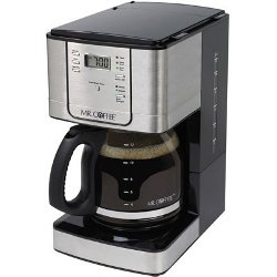 Mr. Coffee 12 Cup Stainless Steel Programmable