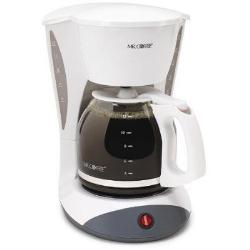 Mr. Coffee 12 Cup Switch Coffeemaker White