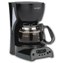 Mr. Coffee 4 Cup Programmable Coffeemaker Black
