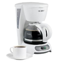 Mr. Coffee 4 Cup Switch Coffeemaker White