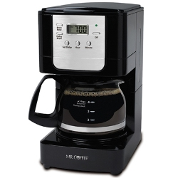 Mr. Coffee 5 Cup Programmable Coffeemaker Black