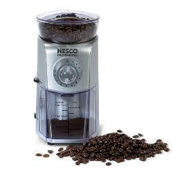 Nesco Coffee Bean Burr Grinder Silver