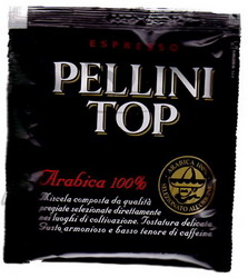 Pellini Top Arabica 100% Pods